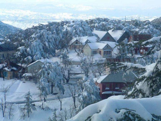 cheréa en neige