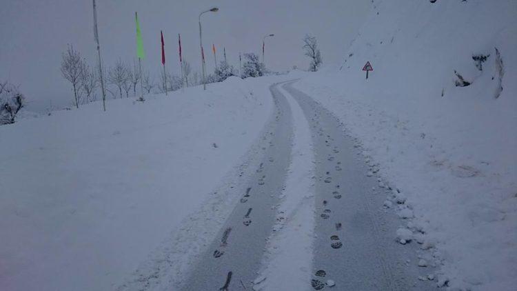 Genzet Sétif en neige