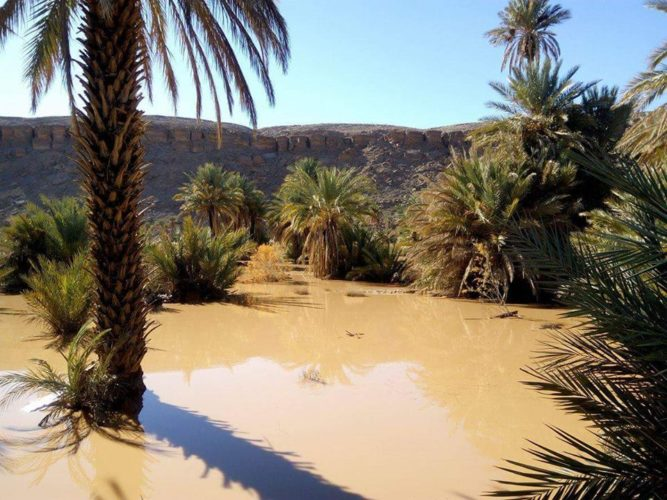 Inondation Oued Zouzfana