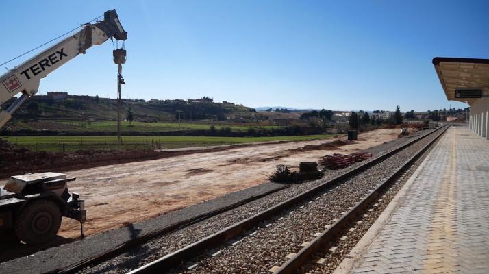 La gare ferroviaire de moulay slissen