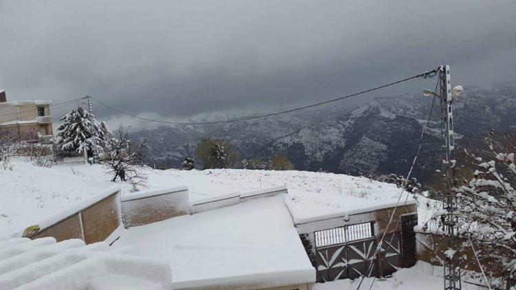 Michelet en neige