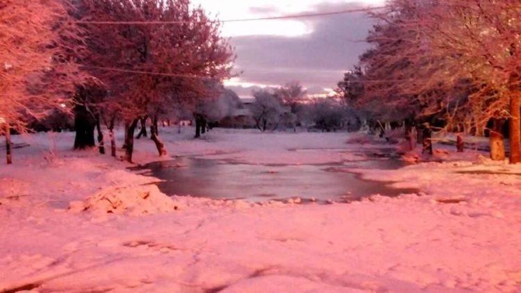 neige à Berrouaghia
