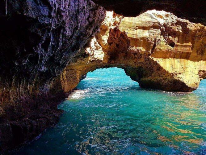 Grottes d'El meftah en plage de Cap carbon Béjaïa