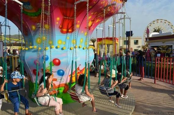 jeux à Mostaland Parc d'attractions