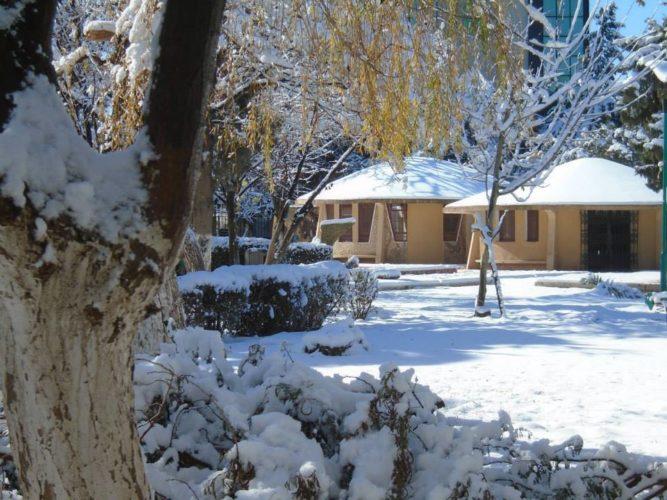 photo de la neige à batna