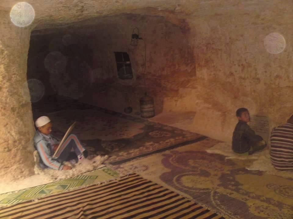 mosquée sous terre à El Bayadh, rogassa