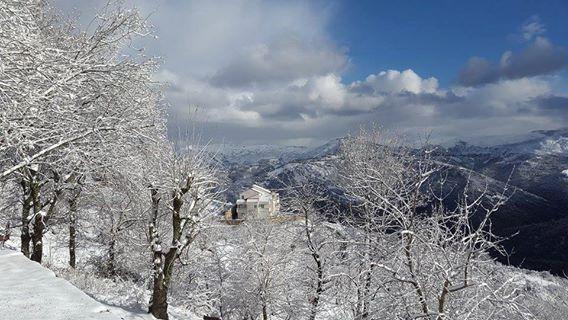 Aïn El Hammam en neige