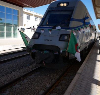 Le train de moulay slissen