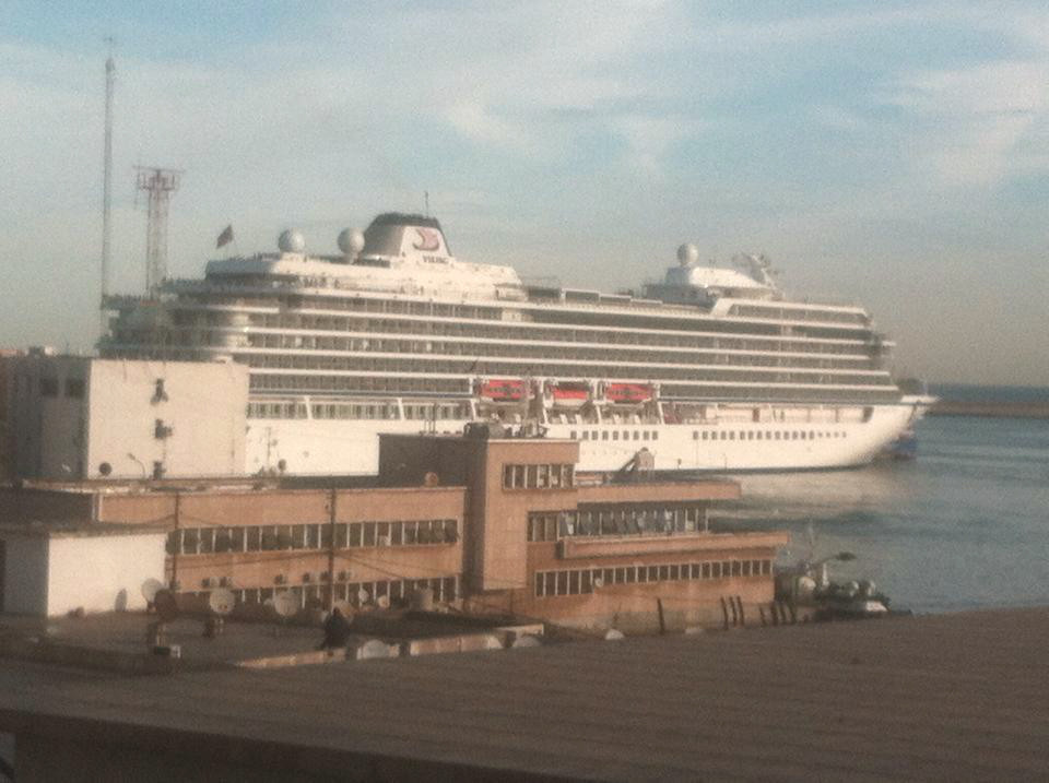 Viking Sea au port d'Alger