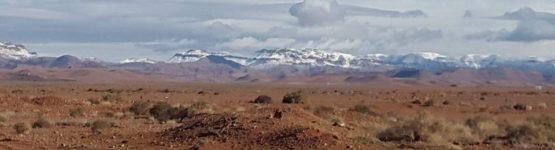 la neige dans les montagnes de Mougheul