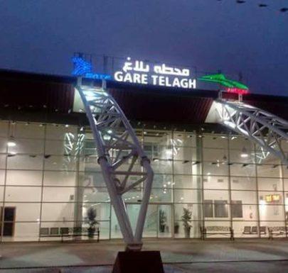 gare ferroviaire de telagh 2018