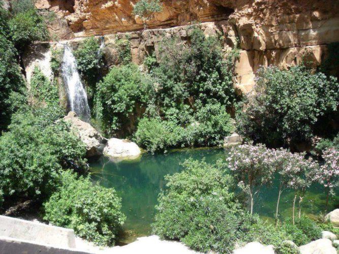 Les cascades d'El-Ourit de Tlemcen